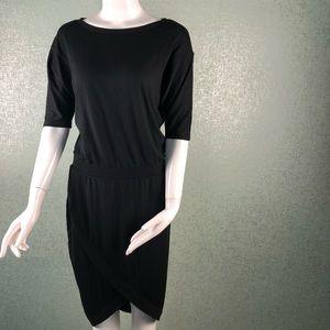 Victoria's Secret Oversized Black Dress Size XS